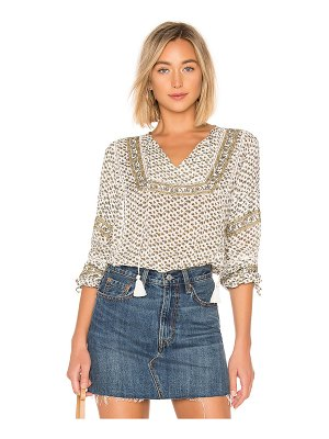 AMUSE SOCIETY Lakefront Woven Top