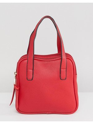Amy Lynn Structured Boxy Bag With Optional Strap