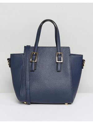 Amy Lynn Structured Tote Bag With Optional Shoulder Strap