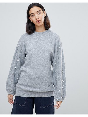Amy Lynn sweater with embellished detail