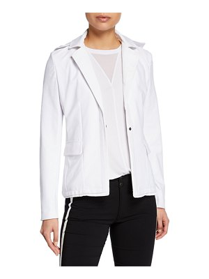 Anatomie Daisy Knit Blazer w/ Removable Hood