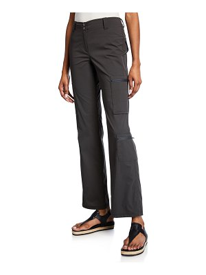 Anatomie Fiora Boot-Cut Cargo Pants with Zip Pockets