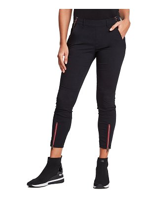 Anatomie Flora Relaxed Fit Pants w/ Contrast Zippers