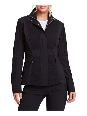 Anatomie Levanna Zip-Front Jacket with Mesh Inserts