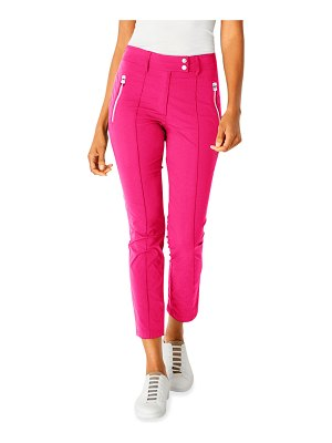 Anatomie Peggy Suva Curvy-Leg Ankle Pants w/ Zippers