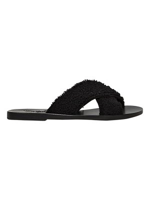 Ancient Greek Sandals 10mm thais shearling slide sandals