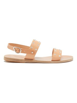 Ancient Greek Sandals dinami leather slingback sandals