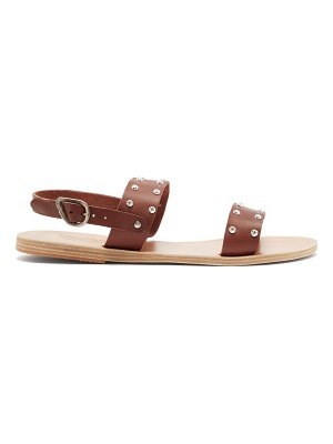 Ancient Greek Sandals dinami studded leather sandals