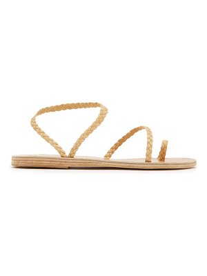 Ancient Greek Sandals eleftheria braided leather sandals