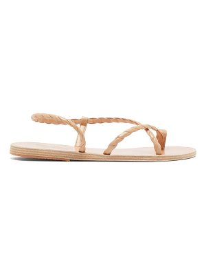 Ancient Greek Sandals fysi braided-strap leather sandals