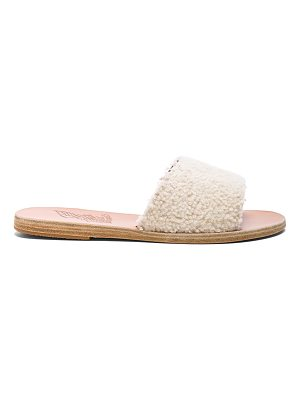 Ancient Greek Sandals Sheep Fur Taygete Sandals
