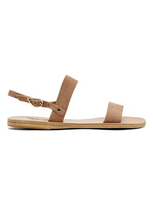 Ancient Greek Sandals Suede Clio Sandals