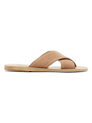 Ancient Greek Sandals Suede Thais Sandals
