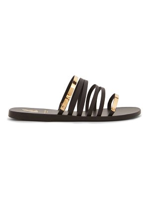 Ancient Greek Sandals x yiannis sergakis metal-snake leather slides