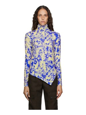 Andersson Bell and yellow tie-dye turtleneck
