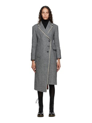 Andersson Bell grey herringbone berlin jacket