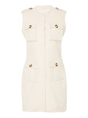Andres Otalora nieves belted cotton mini dress
