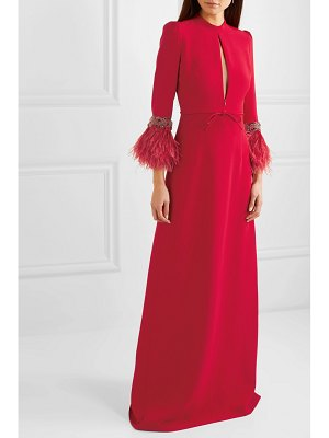 ANDREW GN embellished cady gown