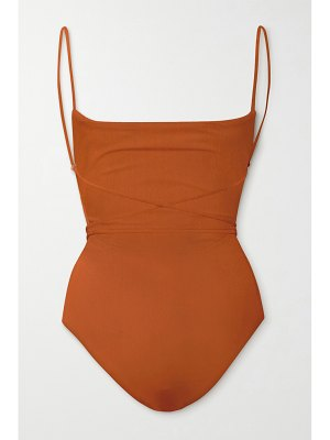 Anemone belted swimsuit