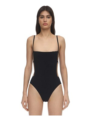 Anemone Cage lycra one piece swimsuit