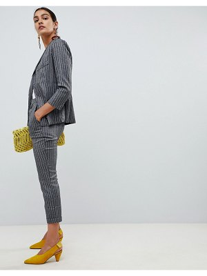 Angel Eye checked tailored pants