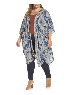 Angie print duster