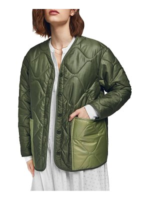 ANINE BING andy quilted bomber jacket