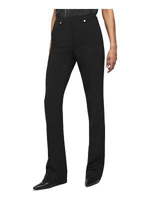 ANINE BING flared suit pants