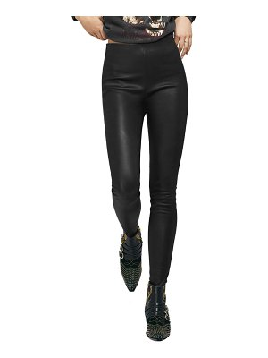 ANINE BING petra leather leggings