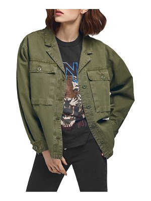 ANINE BING sawyer military shirt jacket