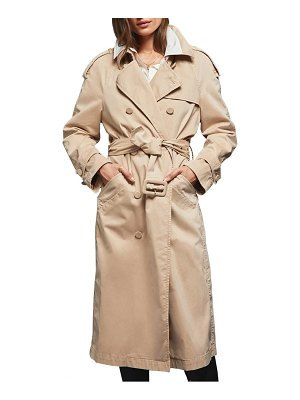 ANINE BING stormi water repellent trench coat
