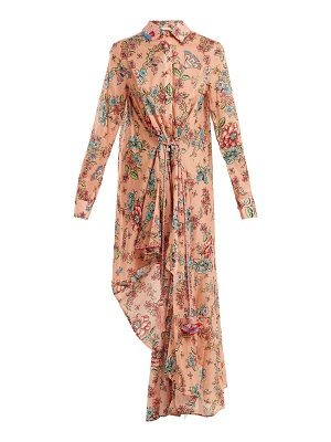 ANJUNA Amanda floral-print cotton dress