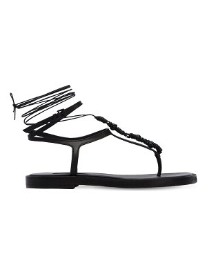 Ann Demeulemeester 20mm leather lace-up sandals