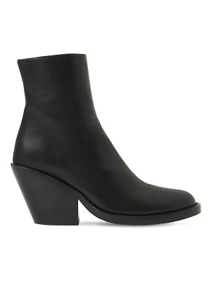 Ann Demeulemeester 80mm leather ankle boots