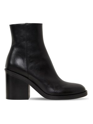 Ann Demeulemeester 90mm brushed leather ankle boots