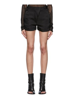 Ann Demeulemeester black moonrise shorts
