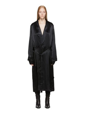 Ann Demeulemeester black nanette dress