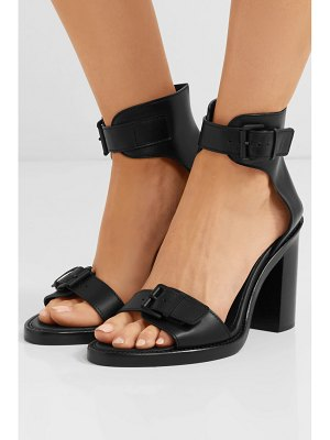 Ann Demeulemeester buckled leather sandals