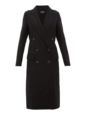 Ann Demeulemeester double faced wool blend coat