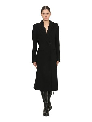 Ann Demeulemeester Fitted cool wool coat