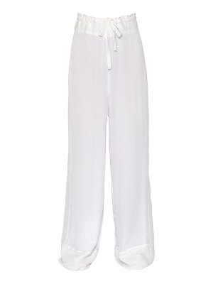 Ann Demeulemeester Flared organdy pants