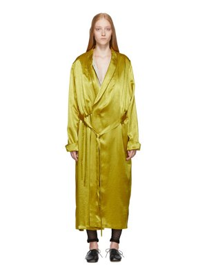 Ann Demeulemeester gold nanette dress