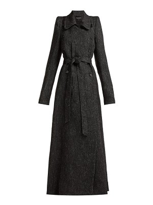 Ann Demeulemeester Northrop Double Breasted Tweed Coat