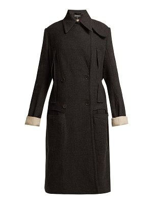 Ann Demeulemeester Oversized double-breasted coat