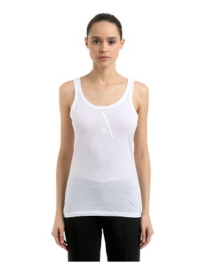 Ann Demeulemeester Re edition cotton jersey tank top