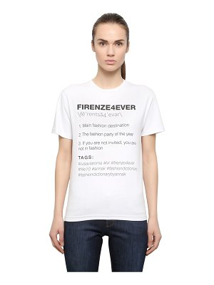 Anna K Firenze4ever cotton t-shirt