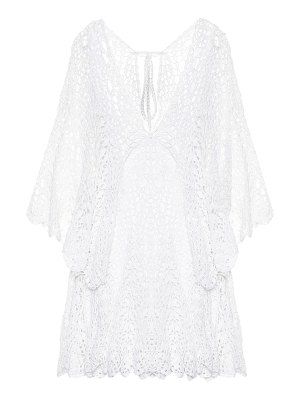 Anna Kosturova Chloé crochet cotton minidress