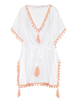 Anna Kosturova Tasseled cotton cover-up