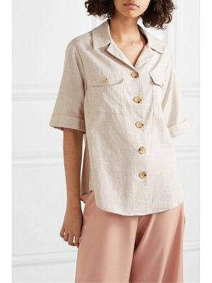 Anna Quan dolly brushed cotton shirt
