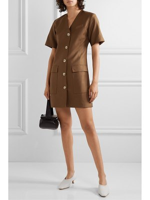 Anna Quan portia twill mini dress